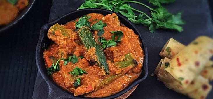 Stuffed Bhindi Masala