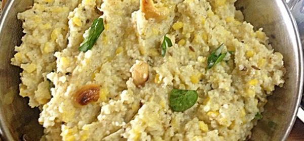 Kudhiraivali Pongal( Barnyard Millet Pongal)