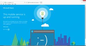 Azure Mobile Service
