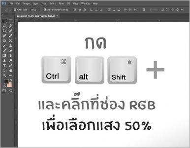 Shortcuts Photoshop6