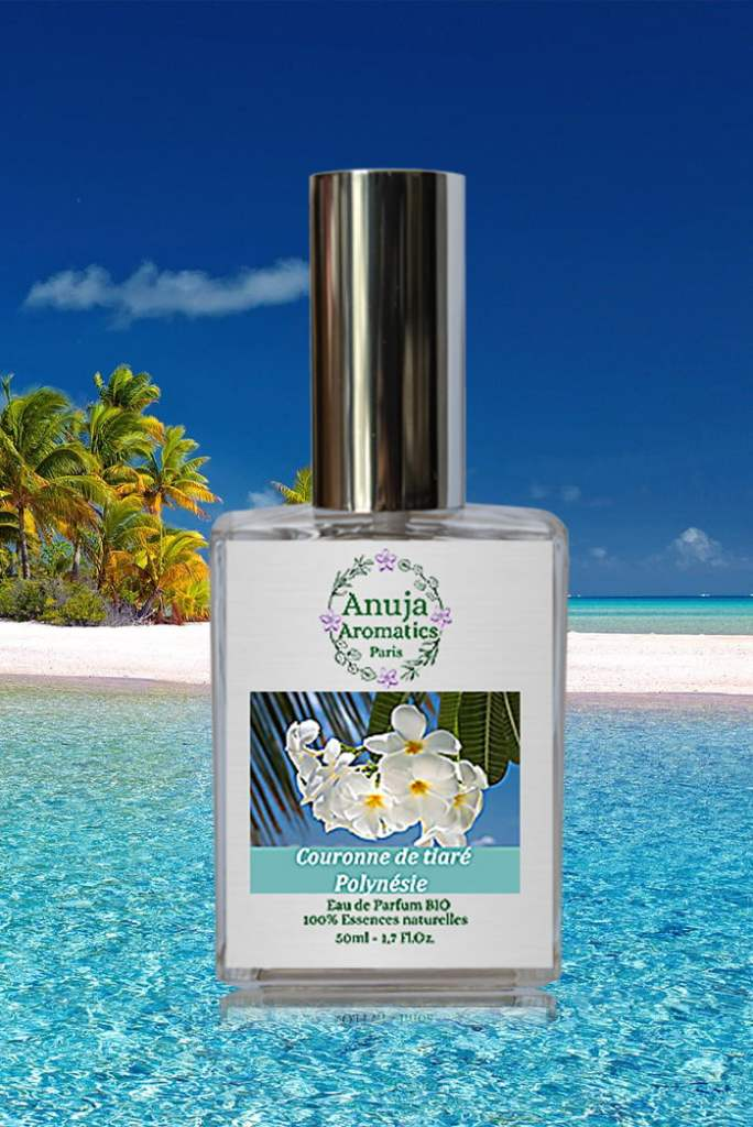 Crown of Tiare Polynesia 50ml Organic Natural Eau de Parfum