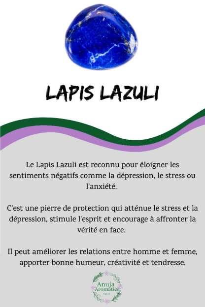 Lapis Lazuli - Signification, Propriétés, Bienfaits et Vertus en Lithothérapie
