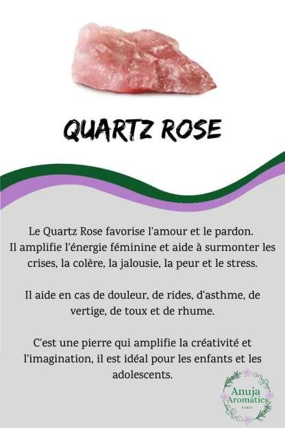 Quartz Rose - Signification, Propriétés, Bienfaits et Vertus de la Pierre en Lithothérapie
