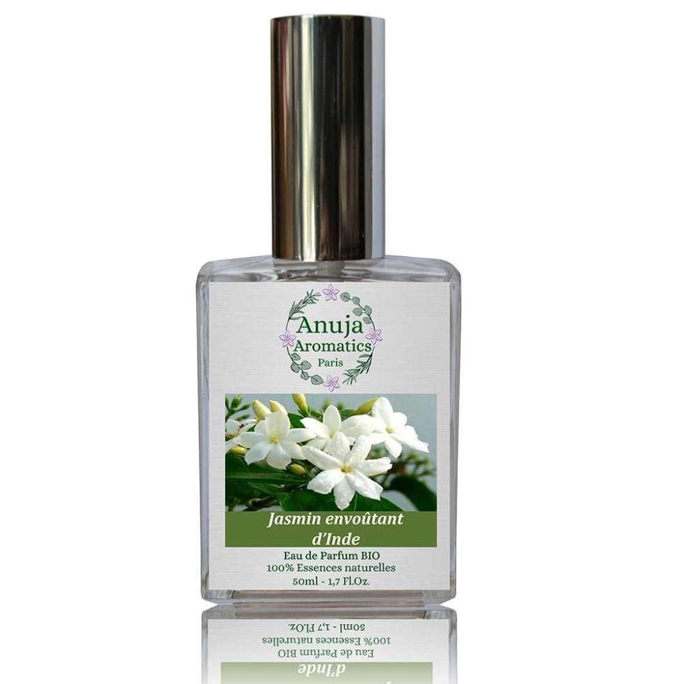 Jasmin envoûtant d'Inde Eau de Parfum naturelle - 50 ml