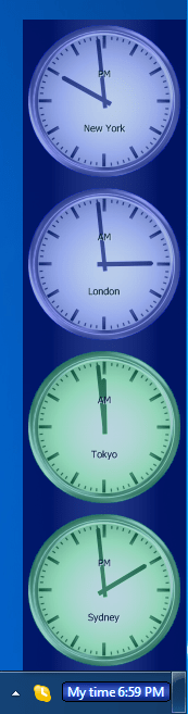 world clock for forex