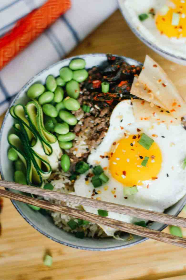 Korean Beef Rice Bowl Recipe