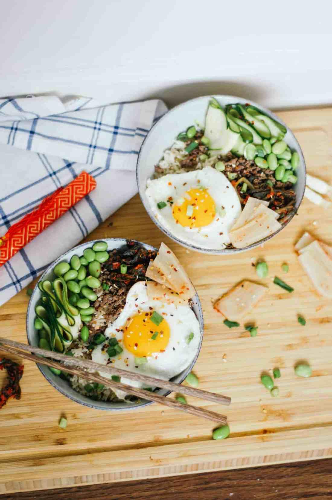 Korean Beef Rice Bowl Recipe