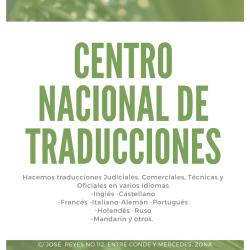 CENTRO NACIONAL DE TRADUCCIONES