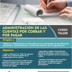 Administración de las Cuentas por Pagar y por Cobrar 2018