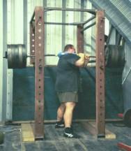 One Shoulder Squat Partial