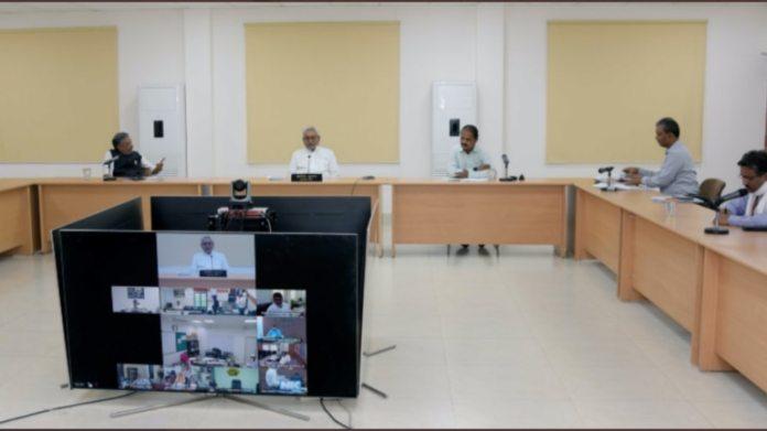बिहार के सीएम नीतीश कुमार ने 15 अप्रैल को आला अधिकारियों के साथ बैठक की