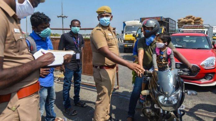 तमिलनाडु में कोरोनोवायरस के लिए 75 से अधिक लोगों ने सकारात्मक परीक्षण किया और कुल संख्या 309 हो गई। (फोटो: पीटीआई)