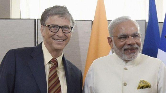 पीएम नरेंद्र मोदी के साथ बिल गेट्स। (फाइल फोटो: रॉयटर्स)