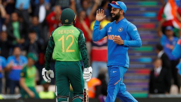 मार्च में कोरोनोवायरस के प्रकोप के कारण दक्षिण अफ्रीका की दूर श्रृंखला बनाम भारत को निलंबित कर दिया गया था। (रॉयटर्स फोटो)