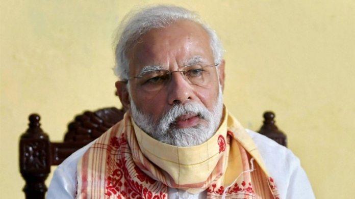 प्रधानमंत्री नरेंद्र मोदी शुक्रवार को एक ब्रीफिंग के दौरान