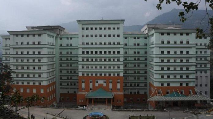 गंगटोक में एसटीएनएम अस्पताल की फाइल फोटो