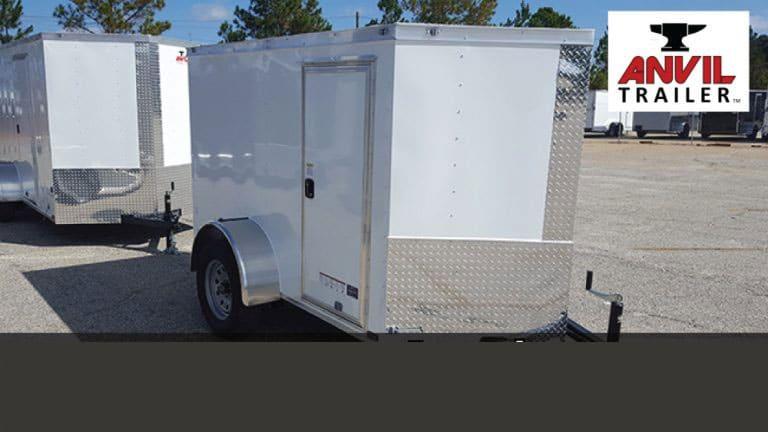 Building Enclosed Cargo Trailers in Douglas Georgia