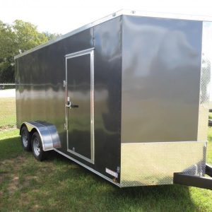 7x18 Enclosed Trailers For Sale Near Me