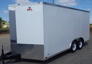 8.5x16 Enclosed Trailers For Sale Near Me