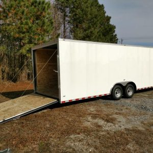 8.5x26 Enclosed Trailers For Sale Near Me