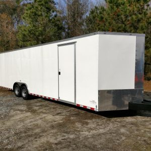 8.5x28 Enclosed Trailers For Sale Near Me