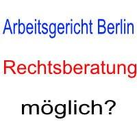 Rechtsberatung Beim Arbeitsgericht Berlin Möglich