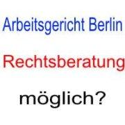 Beratung beim Arbeitsgericht Berlin