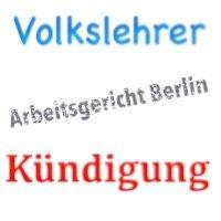 Kündigungsschutzklage - Arbeitsgericht Berlin - Lehrer YouTube-Kanal