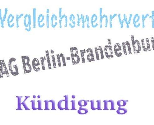 Landesarbeitsgericht Berlin-Brandenburg: Vergleichsmehrwert durch Arbeitszeugnis bei betriebsbedingter Kündigung.