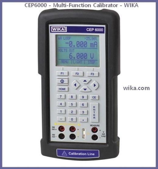 CEP6000 - Multi-Function Calibrator - WIKA