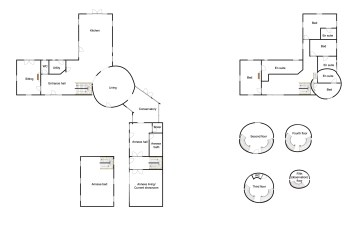 The Black Mill floorplan