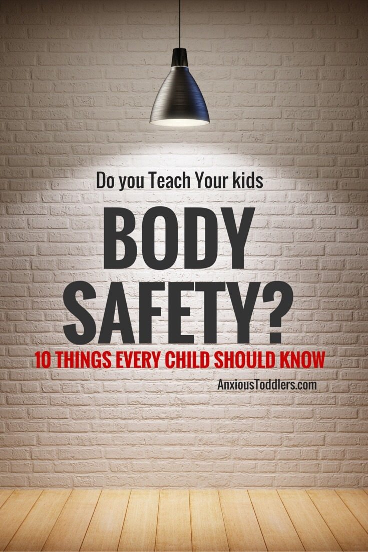 Do you teach your kids body safety? What are you waiting for? Here are 10 things every kids should know!