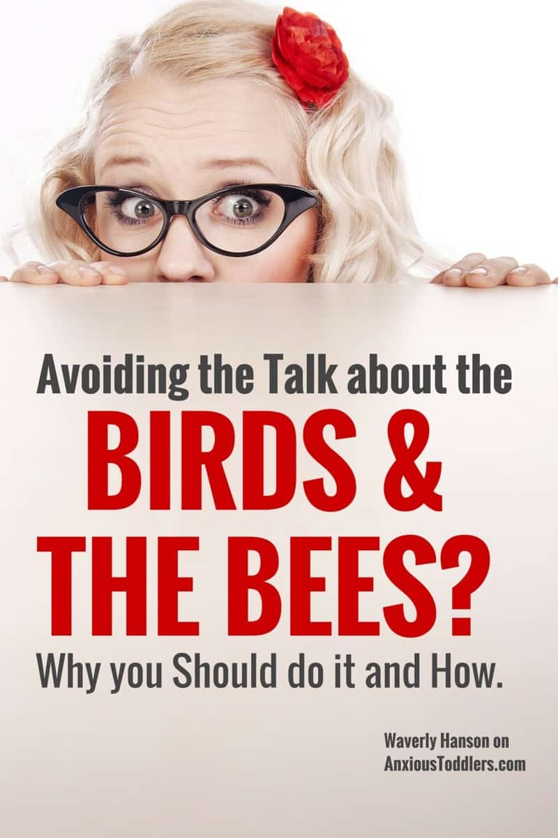 Are you putting off talking to your kids about the birds and the bees. Unfortunately if you don't do it - someone else will. Yikes!