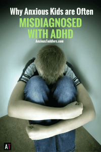 Sometimes anxious kids don't look anxious. Sometimes they look hyper and unfocused. Unfortunately it is common for these kids to be misdiagnosed with ADHD. Here is why.