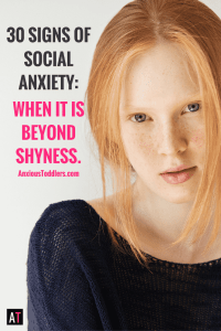 Does your child have a hard time making friends? Does your child get overwhelmed in social situations? Is it shyness or is it something more? Here are 30 signs of social anxiety in kids. Are you missing the signs?