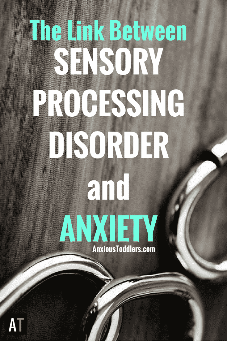 Do you know there is a link between Sensory Processing Disorder and Anxiety? It is not a coincidence that kids with SPD often have anxiety.