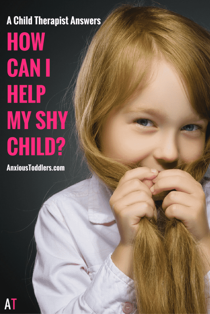 "A Child Therapist answers, ""How can I help my shy child?"""
