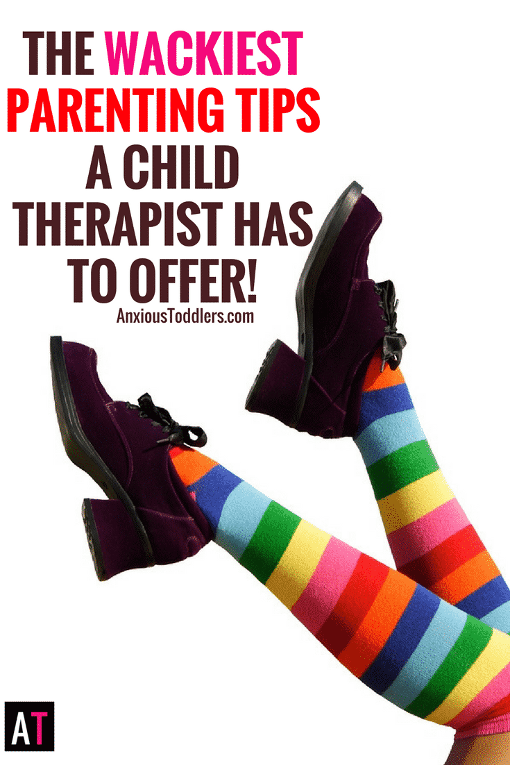 In this episode you will  learn 5 of the weirdest, wackiest parenting tips a child therapist has to offer. The best part...they actually work!