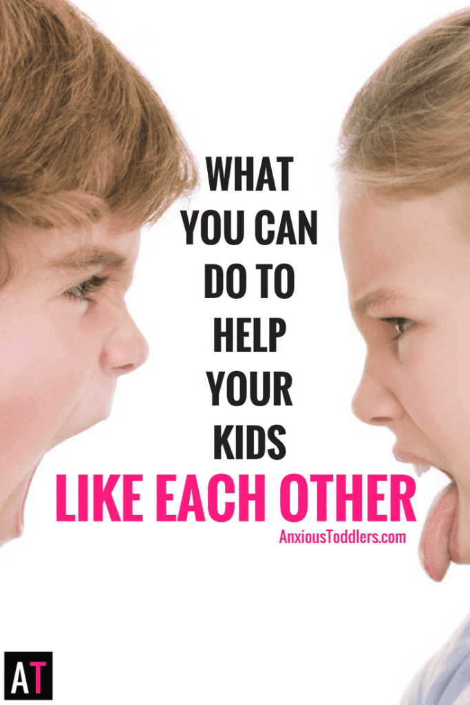 What are you supposed to do if your kids fight? Are you destined to listen to that bickering forever or can you do do something to help their relationship? Here are some simple ways you can improve the chances your kids will like each other.