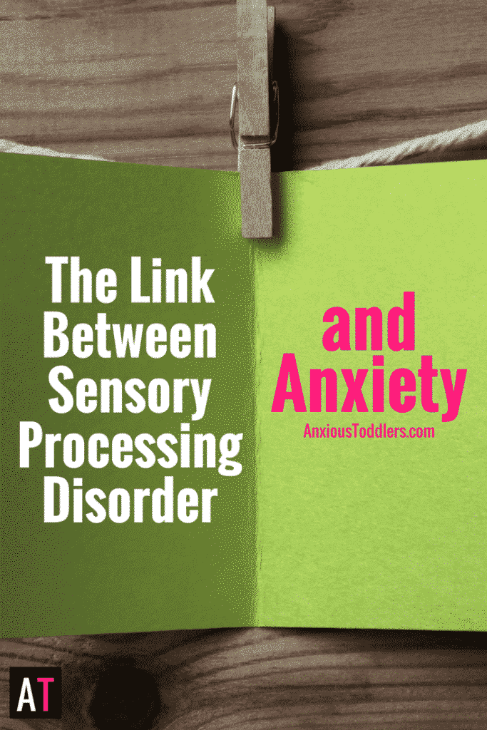 There is a huge overlap between sensory processing and child anxiety. Learn what it is and how to help a child who has both issues.