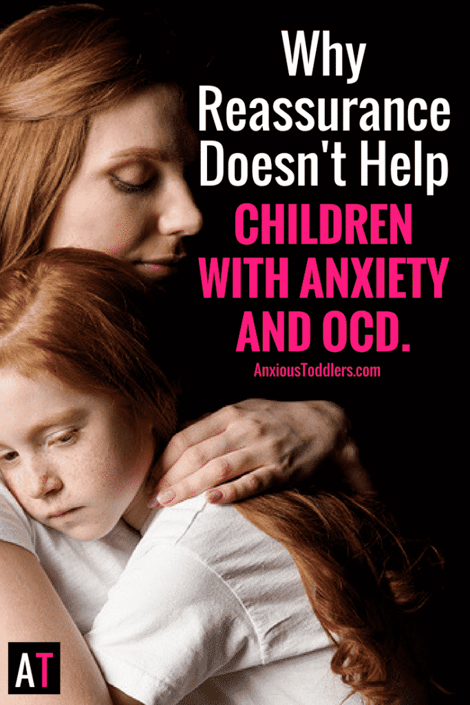 We all reassure our children with anxiety and OCD, but does it help or actually make their anxiety and OCD worse? Could we do something better?