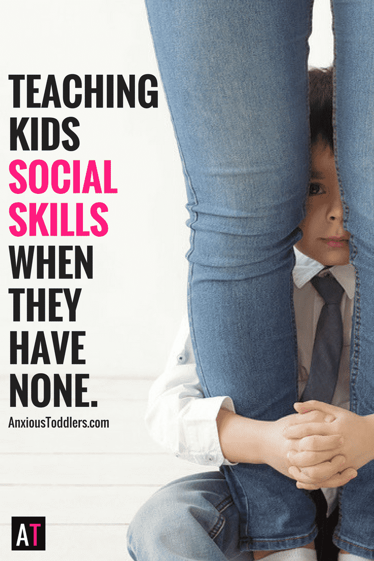 Every time your child is in a social situation they tank. It is painful to watch. Let me show you how to teach your kids social skills.
