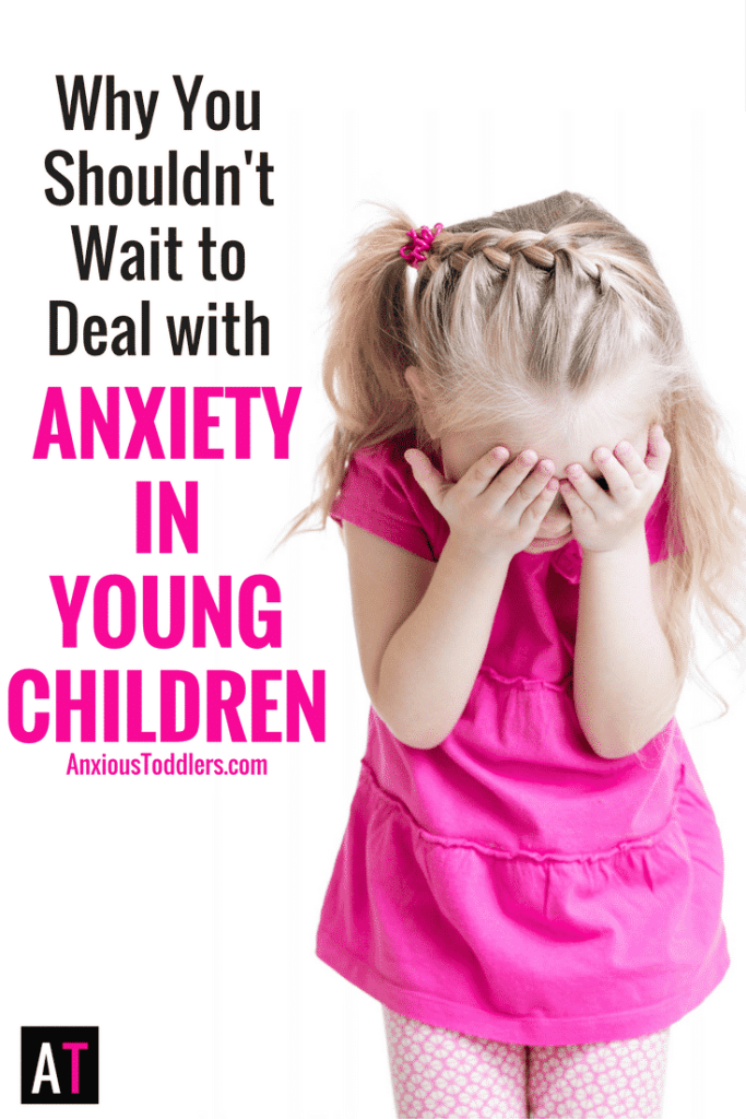 Your child has been anxious since she left the womb. Don't wait until your child is older. Anxiety in young children should be dealt with sooner than later. Let me tell you how.