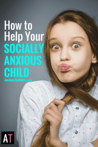 Your child is socially anxious. He is a one-friend at a time kind of kid. How can you help him? Let me tell you how.
