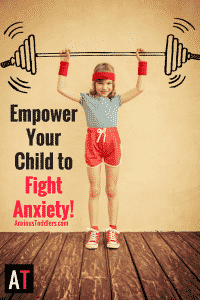 Anxiety wants victims. Don't sit back and watch your child be dominated by anxiety. Empower your child to fight anxiety and take back their life!