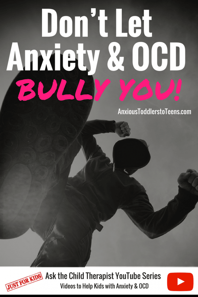 Don't let your kids be bullied by anxiety and OCD any longer! Show them my YouTube video that talks about how to fight back. Let the battle begin!