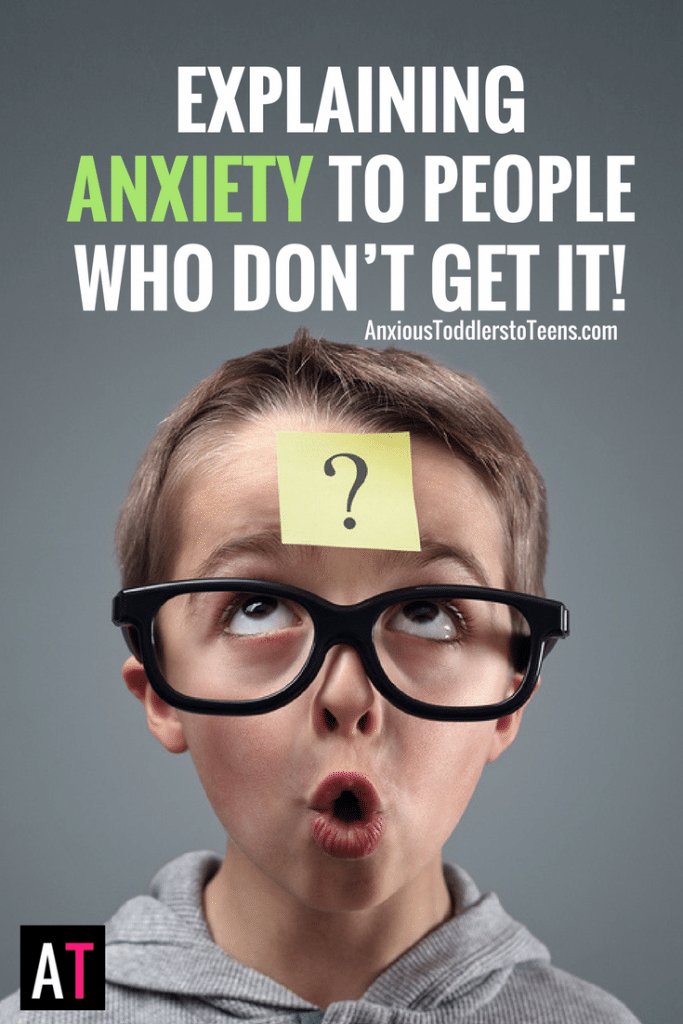 Some people don't understand anxiety. Explaining anxiety to those that don't get it can be a struggle. Let me help you with your verbal judo.