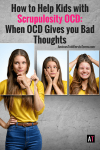 OCD isn't always about germs. Sometimes it is about bad thoughts. Thoughts that you are a bad person. Help your child with Scrupulosity OCD by showing them this YouTube video.
