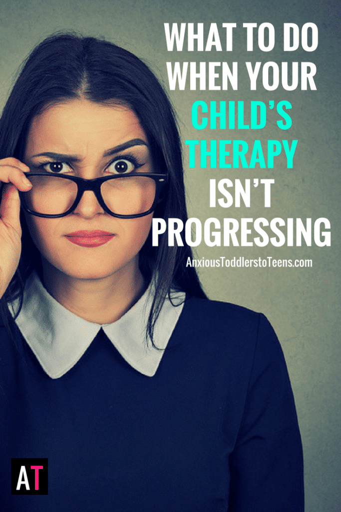Do you worry your child's therapy isn't working? Learn why that might be and what to do about it!