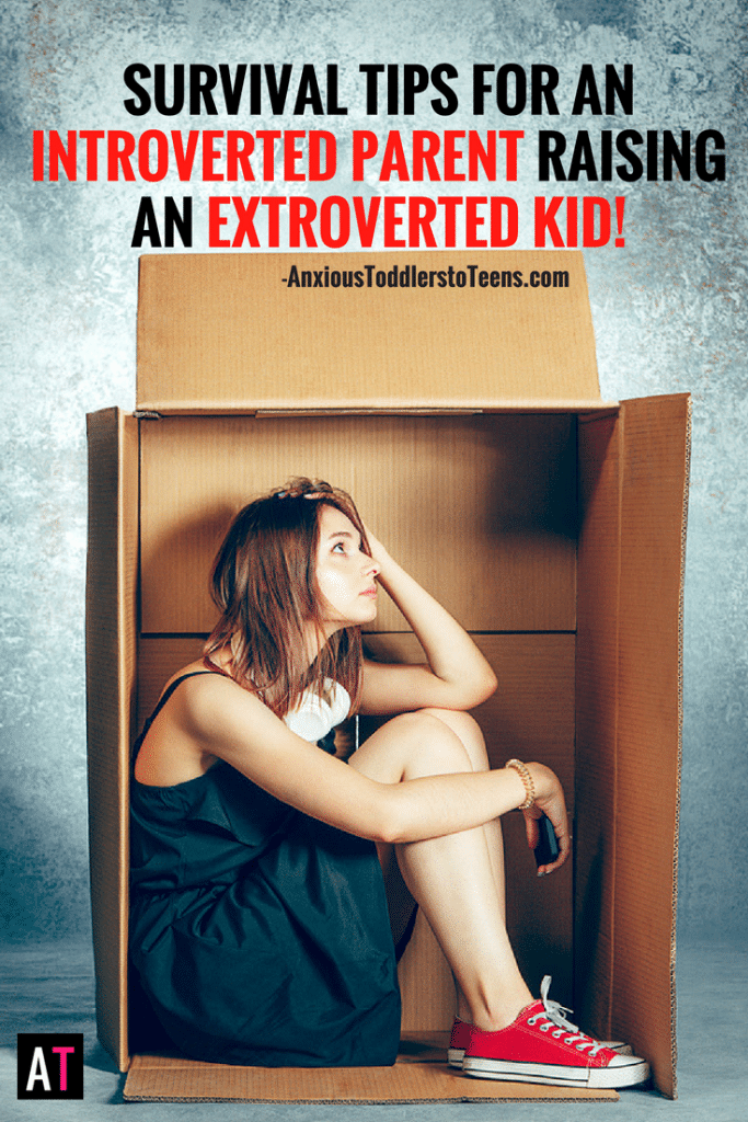 Are you an introverted parent raising an extroverted child? Being an introverted mom or dad can be a challenge, especially when you have an extrovert.